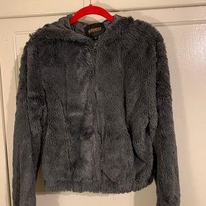 Ambiance Outwear fuzzy jacket